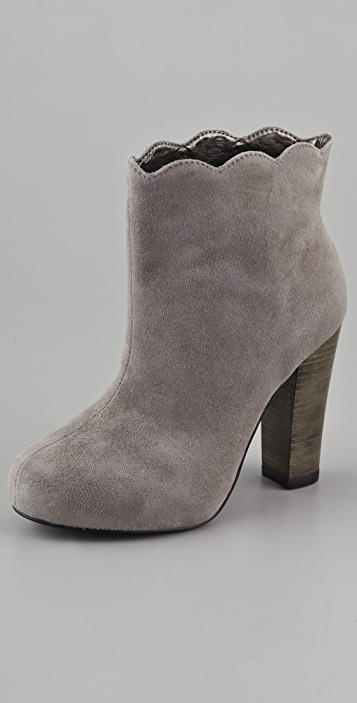 Charlotte Ronson Dimphy Suede Booties