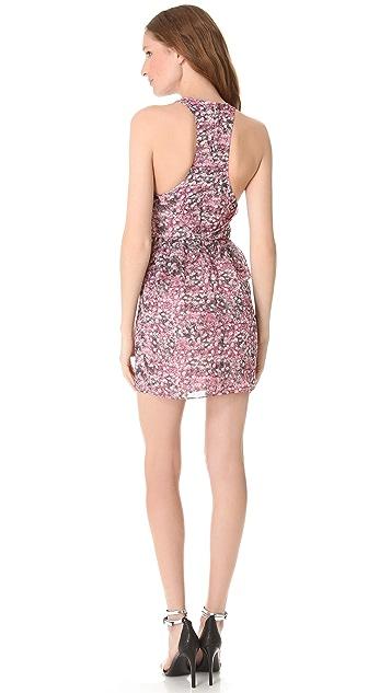 Charlotte Ronson Peplum Mini Dress