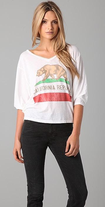 Chaser California Republic Bear Tee