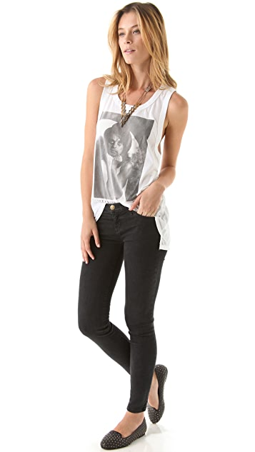 Chaser Alice Cooper Deep Armhole Tank