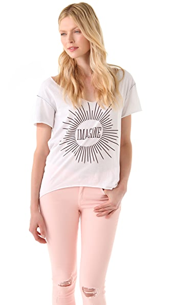 Chaser Chaser Imagine Tee Shirt
