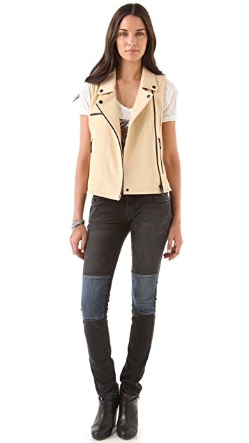 Chaser Leather Vest