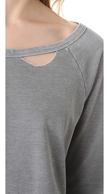 Chaser Deconstructed Raglan Shirt