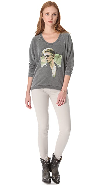 Chaser David Bowie Oversized Top