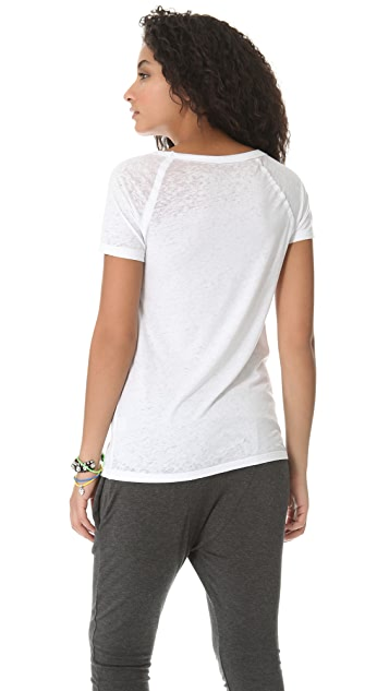 Chaser Feathered Heart Tee