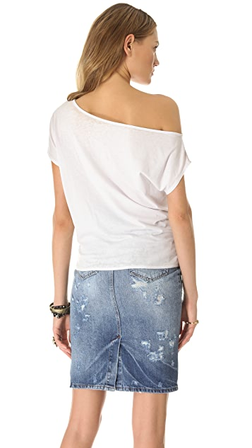 Chaser Fender Off the Shoulder Top