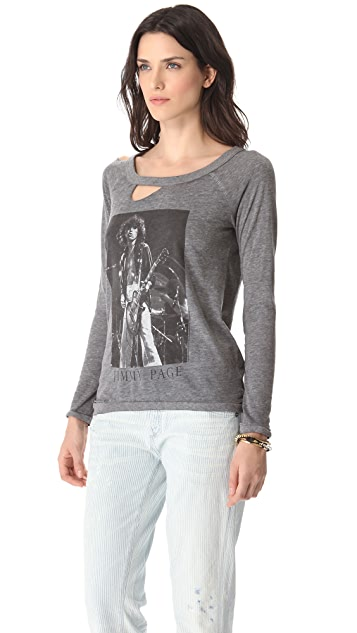 Chaser Jimmy Page Long Sleeve Tee