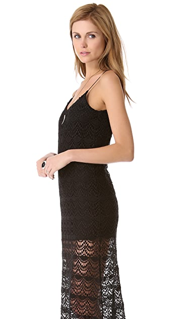 Chaser Spanish Lace Maxi Dress
