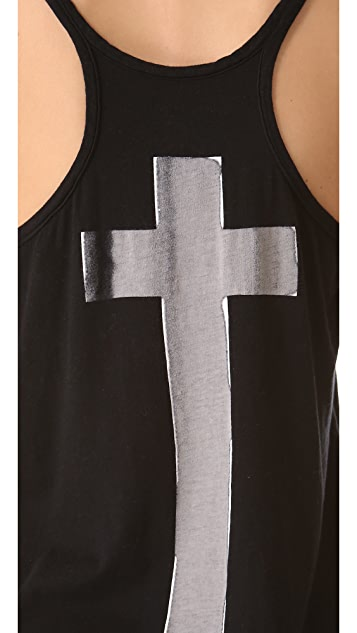 Chaser Silver Cross Tank