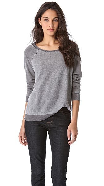 Chaser Reverse Fleece Top