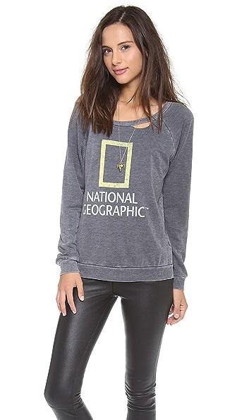 Chaser Nat Geo Logo Sweatshirt