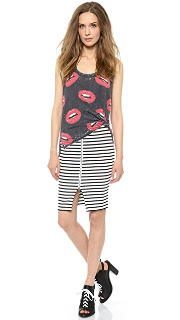 Chaser Red Lips Tank