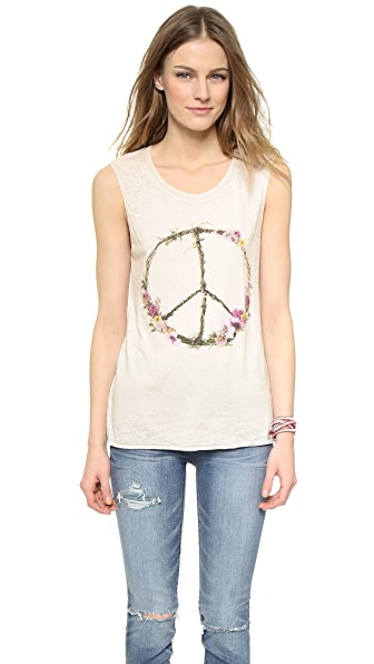 Chaser Peace Wreath Tank Top