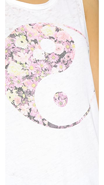 Chaser Flowers Yin Yang Tank