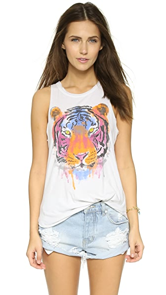 Chaser Watercolor Tiger Tank