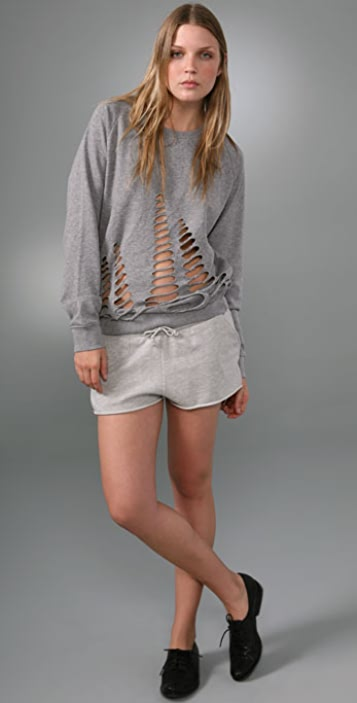 Cheap Monday Cutout Sweatshirt