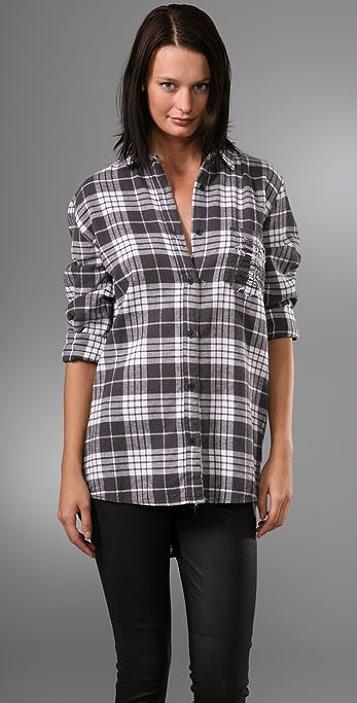 Cheap Monday Patty Plaid Shirt