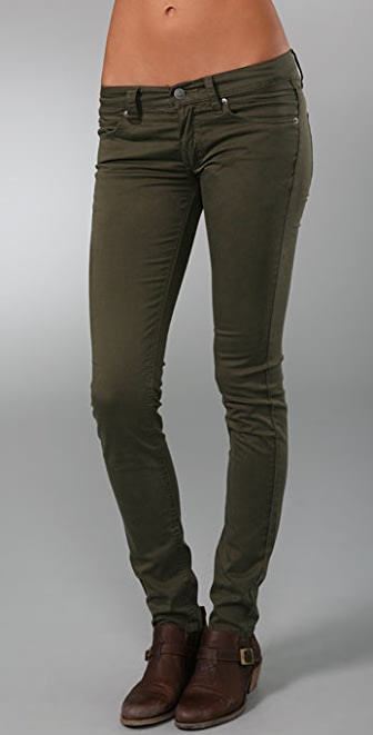 Cheap Monday Zip Low Waist Skinny Pants