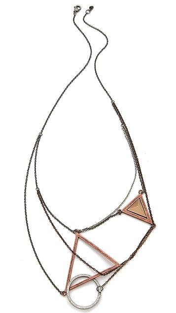 Cheap Monday Geometry Necklace
