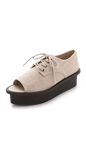 Cheap Monday Form Peep Toe Oxfords