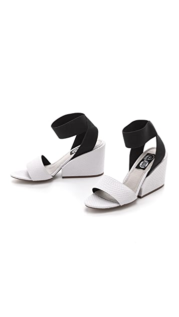 Cheap Monday Stomp Embossed Sandals