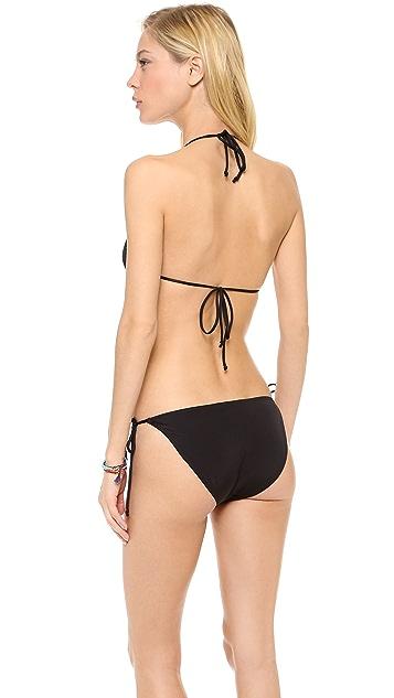Cheap Monday Tie Triangle Bikini Top