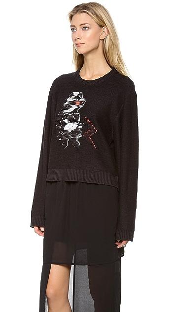 Cheap Monday Cat Monday Sweater