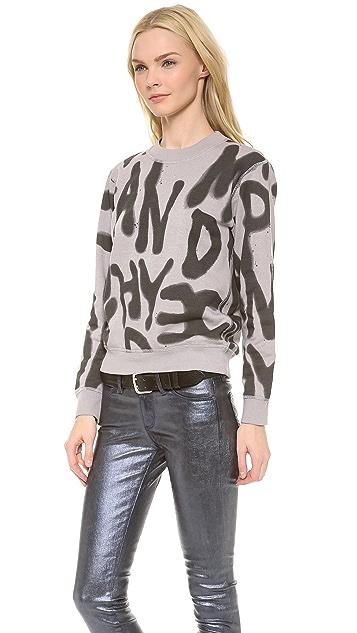 Cheap Monday Ellie Spray Sweatshirt
