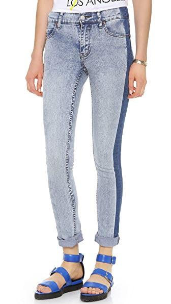 Cheap Monday Tight Mid Waist Jeans