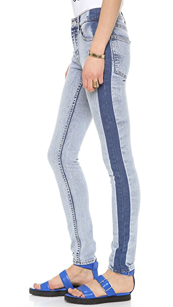 Cheap Monday Tight Mid Waist Jeans