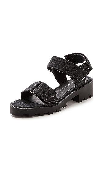 Cheap Monday Go Velcro Flat Sandals