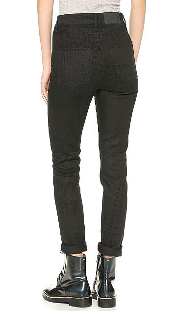 Cheap Monday Second Skin Croc Jeans