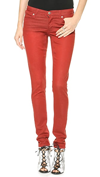 Cheap Monday Slim Rocking Red Jeans