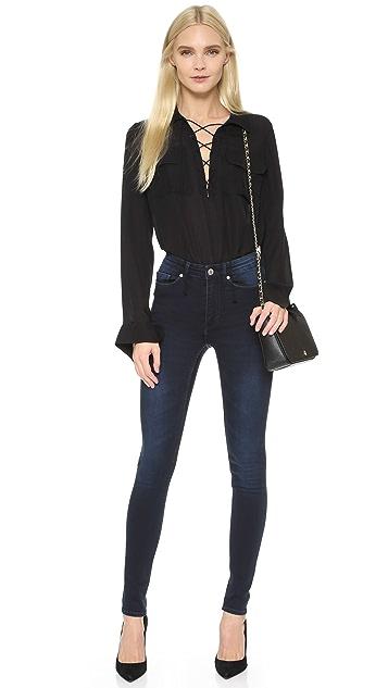 Cheap Monday High Snap Jeans