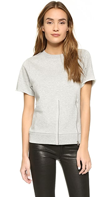 Cheap Monday Blank Zip Sweatshirt