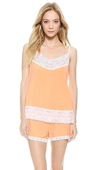 Cheek Frills Pastel Neon Pajama Set