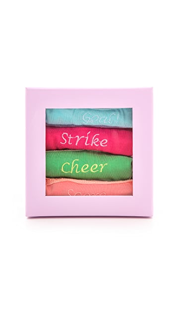 Cheek Frills Soccer Panties Box Set
