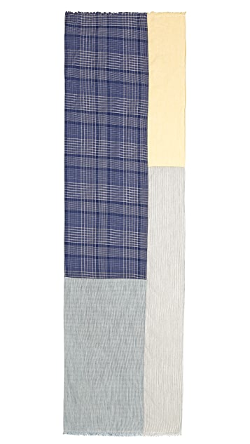 Chief Blues Rectangle Scarf