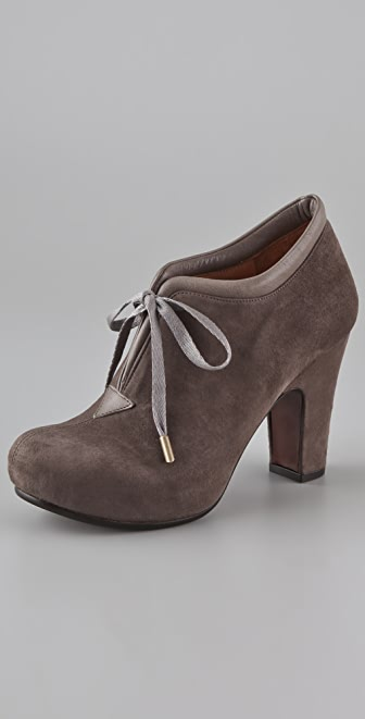 Chie Mihara Shoes Olga Suede Platform Booties