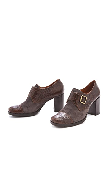 Chie Mihara Shoes Hebe Monk Strap Booties