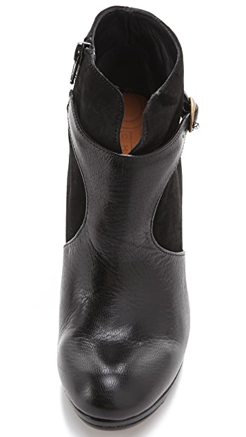 Chie Mihara Shoes Alberta Booties with Buckle