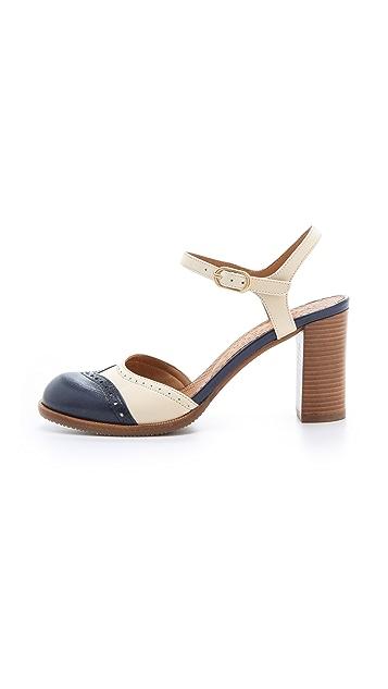 Chie Mihara Shoes Zoma Brogue Sandals