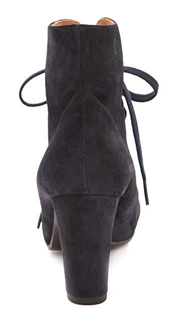 Chie Mihara Shoes Amarna Lace Up Booties