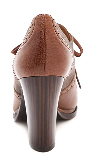 Chie Mihara Shoes Brizna Oxford Booties