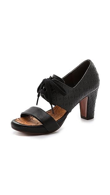 Chie Mihara Shoes Calanta Lace up Sandals