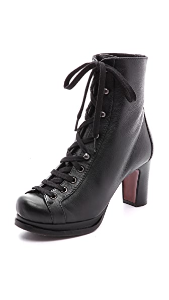 Chie Mihara Shoes Quajida Lace Up Boots