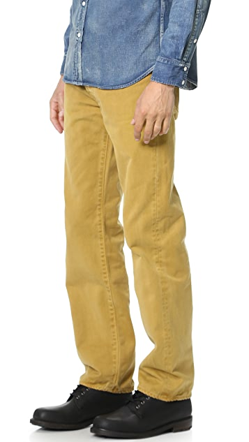 Chimala Deep Rise Drill Jeans