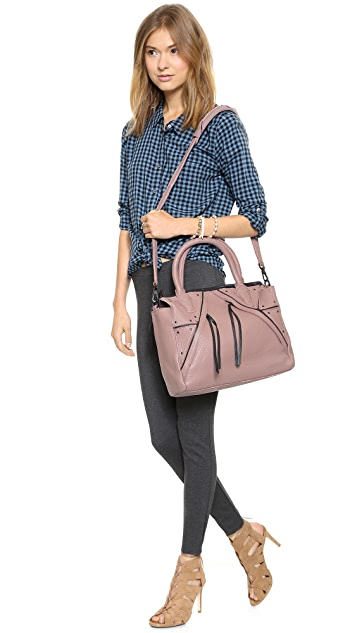 Christopher Kon Double Zip Satchel
