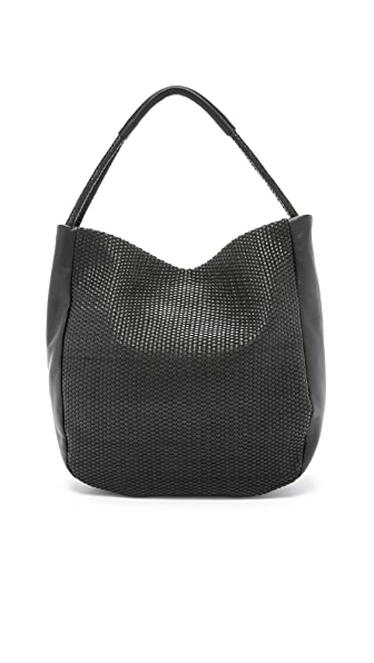 Christopher Kon Micro Weave Hobo Bag
