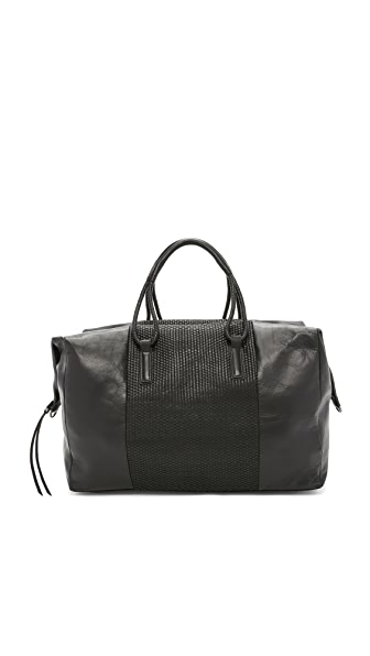 Christopher Kon Micro Weave Weekender Bag